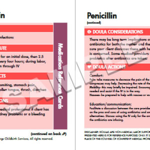 Medication Reference Cards