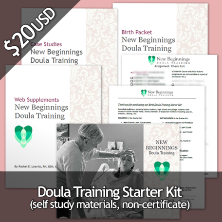 Doula Training Starter Kit – $20 USD